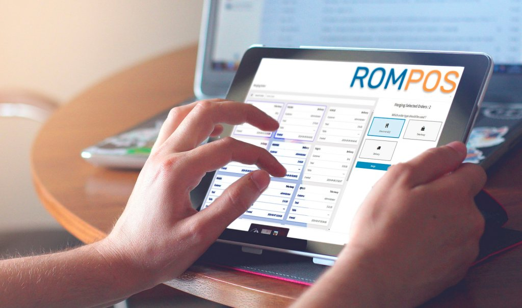 man using rompos pos to increase revenue